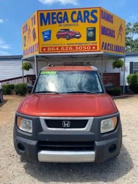 2003 Honda Element for sale at Mega Cars of Greenville in Greenville SC