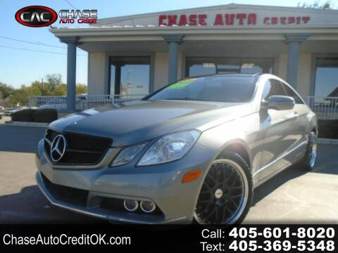 2010 Mercedes-Benz E-Class for sale at Chase Auto Credit in Oklahoma City OK