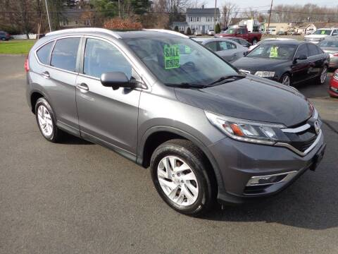 2016 Honda CR-V for sale at BETTER BUYS AUTO INC in East Windsor CT