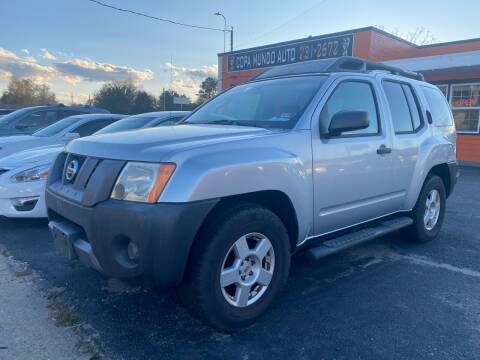 2007 Nissan Xterra for sale at Copa Mundo Auto in Richmond VA
