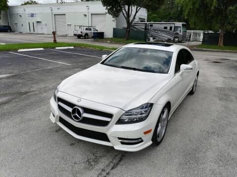 2013 Mercedes-Benz CLS for sale at Best Price Car Dealer in Hallandale Beach FL