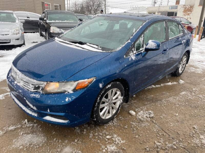 2012 Honda Civic for sale at Two Rivers Auto Sales Corp. in South Bend IN