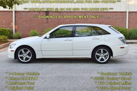 2004 Lexus IS 300 for sale at Automotion Of Atlanta in Conyers GA