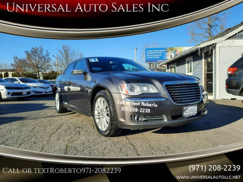 2014 Chrysler 300 for sale at Universal Auto Sales Inc in Salem OR