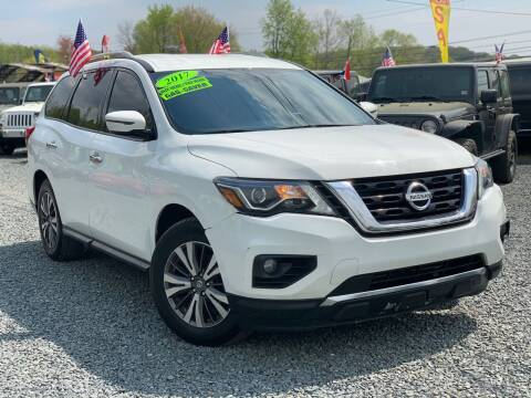 2017 Nissan Pathfinder for sale at A&M Auto Sale in Edgewood MD