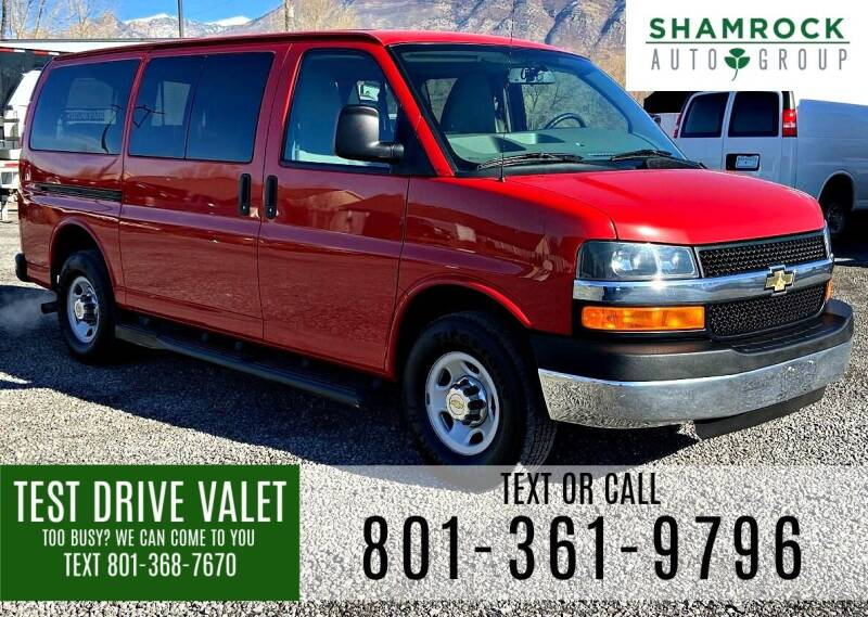 2013 Chevrolet Express Passenger for sale at Shamrock Group LLC #1 in Pleasant Grove UT