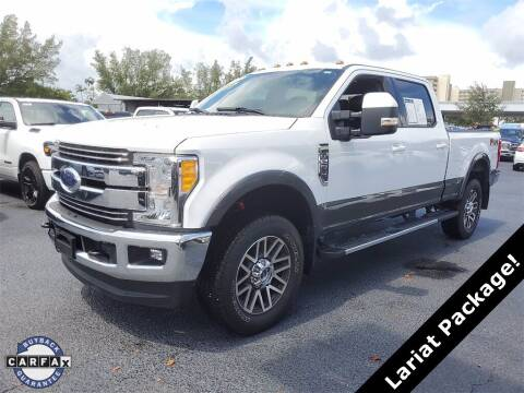 2017 Ford F-250 Super Duty for sale at PHIL SMITH AUTOMOTIVE GROUP - Joey Accardi Chrysler Dodge Jeep Ram in Pompano Beach FL