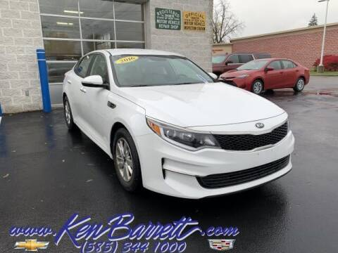 2016 Kia Optima for sale at KEN BARRETT CHEVROLET CADILLAC in Batavia NY
