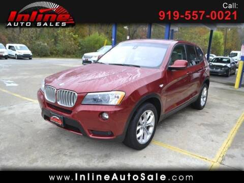 2011 BMW X3 for sale at Inline Auto Sales in Fuquay Varina NC