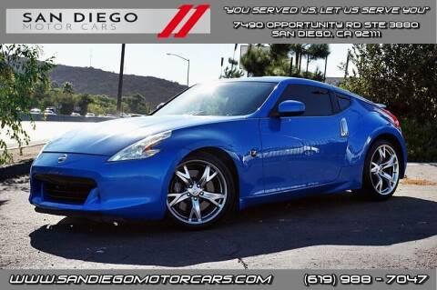 2009 Nissan 370Z for sale at San Diego Motor Cars LLC in San Diego CA