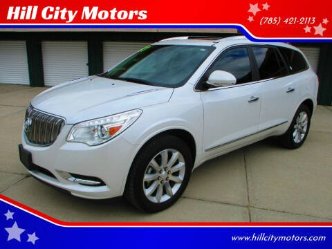 2017 Buick Enclave for sale at Hill City Motors in Hill City KS