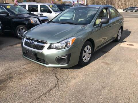 2014 Subaru Impreza for sale at TOLLAND CITGO AUTO SALES in Tolland CT