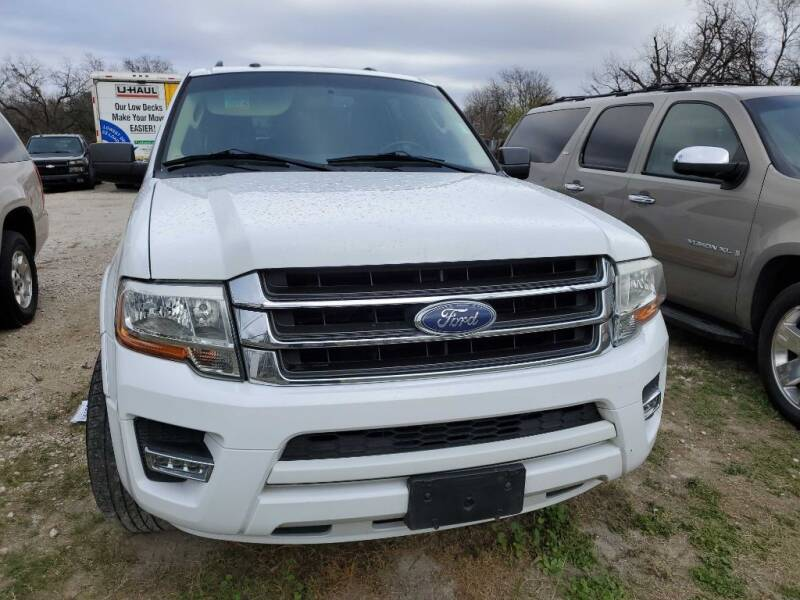 2015 Ford Expedition EL for sale at Merlo's Auto Sales LLC in San Antonio TX