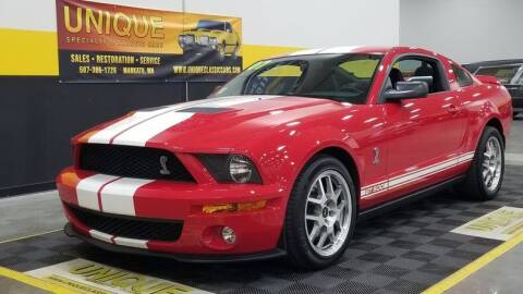 2007 Ford Shelby GT500 for sale at UNIQUE SPECIALTY & CLASSICS in Mankato MN