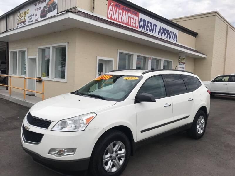 2012 Chevrolet Traverse for sale at Suarez Auto Sales in Port Huron MI