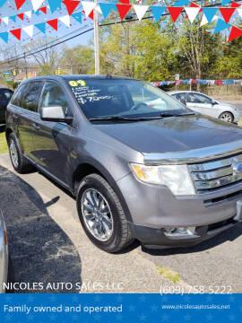 2009 Ford Edge for sale at NICOLES AUTO SALES LLC in Cream Ridge NJ