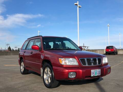 2002 Subaru Forester for sale at Rave Auto Sales in Corvallis OR