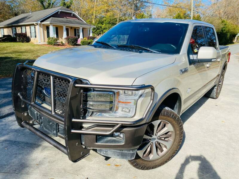 2018 Ford F-150 for sale at Cobb Luxury Cars in Marietta GA