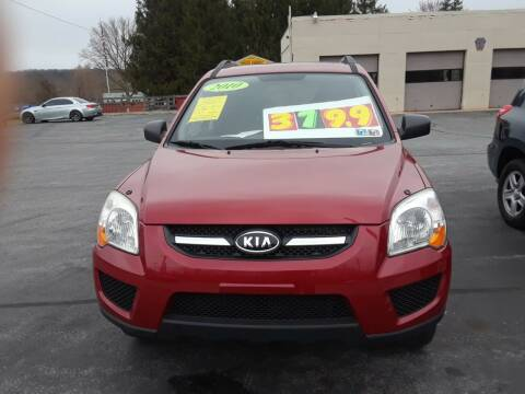 2010 Kia Sportage for sale at Dun Rite Car Sales in Downingtown PA