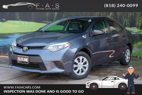 2015 Toyota Corolla for sale at Best Car Buy in Glendale CA