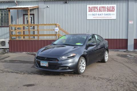 2013 Dodge Dart for sale at Dave's Auto Sales in Winthrop MN