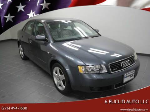 2003 Audi A4 for sale at 6 Euclid Auto LLC in Bristol VA