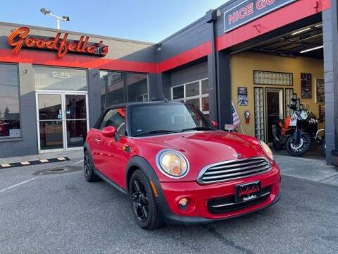 2014 MINI Convertible for sale at Goodfella's  Motor Company in Tacoma WA