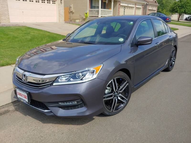 2016 Honda Accord for sale at The Car Guy in Glendale CO