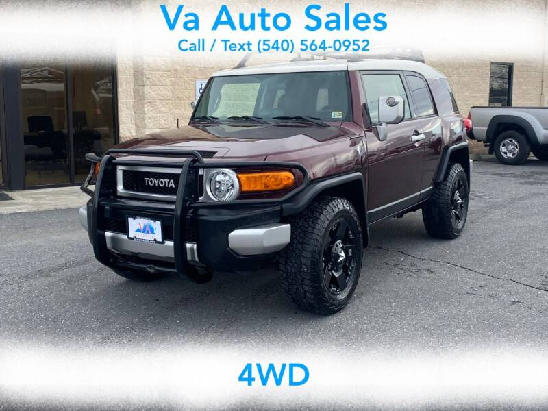 2007 Toyota FJ Cruiser for sale at Va Auto Sales in Harrisonburg VA