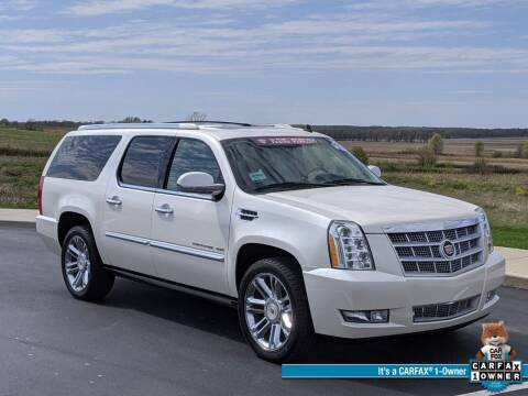 2014 Cadillac Escalade ESV for sale at Bob Walters Linton Motors in Linton IN
