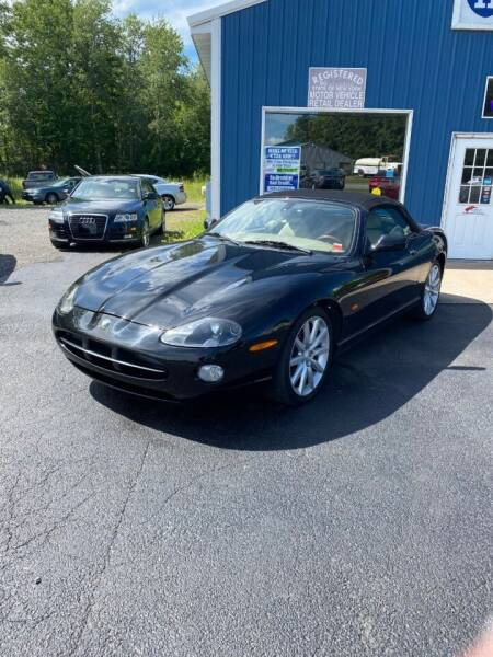 2006 Jaguar XK-Series for sale at ROUTE 11 MOTOR SPORTS in Central Square NY