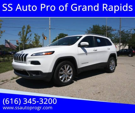 2016 Jeep Cherokee for sale at SS Auto Pro of Grand Rapids in Kentwood MI