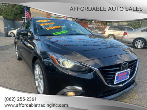 2014 Mazda MAZDA3 for sale at Affordable Auto Sales in Irvington NJ