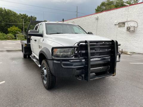 2012 RAM Ram Chassis 5500 for sale at LUXURY AUTO MALL in Tampa FL