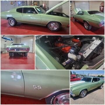 1970 Chevrolet Chevelle for sale at Iconic Motors of Oklahoma City, LLC in Oklahoma City OK