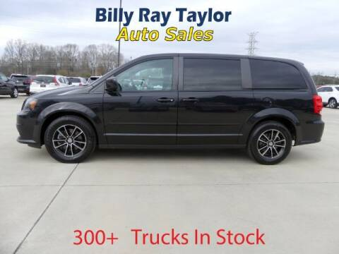 2016 Dodge Grand Caravan for sale at Billy Ray Taylor Auto Sales in Cullman AL