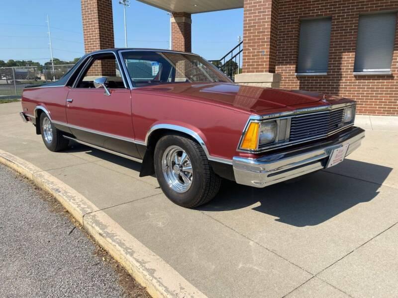 1981 Chevrolet El Camino for sale at Klemme Klassic Kars in Davenport IA