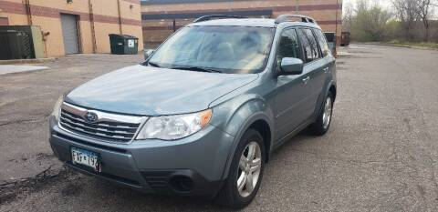 2010 Subaru Forester for sale at Fleet Automotive LLC in Maplewood MN