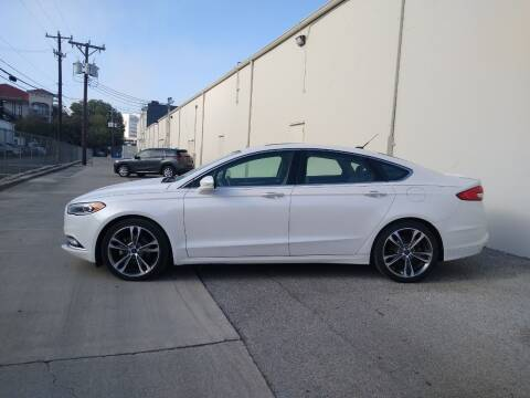 2017 Ford Fusion for sale at 57 Auto Sales in San Antonio TX