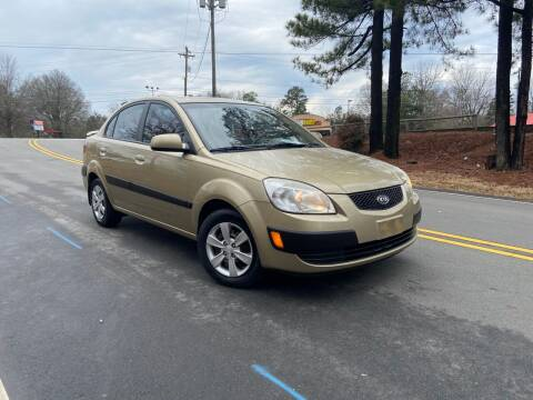 2008 Kia Rio for sale at THE AUTO FINDERS in Durham NC