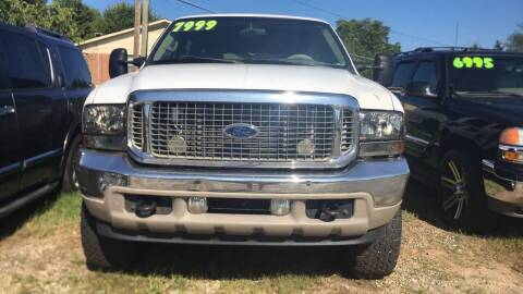 2001 Ford Excursion for sale at S & H AUTO LLC in Granite Falls NC