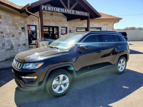 2019 Jeep Compass for sale at Performance Motors Killeen Second Chance in Killeen TX