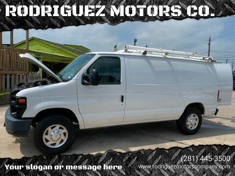2012 Ford E-Series Cargo for sale at RODRIGUEZ MOTORS CO. in Houston TX