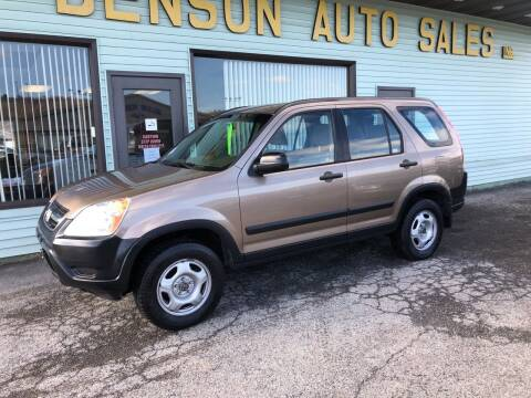 2004 Honda CR-V for sale at Superior Auto Sales in Duncansville PA