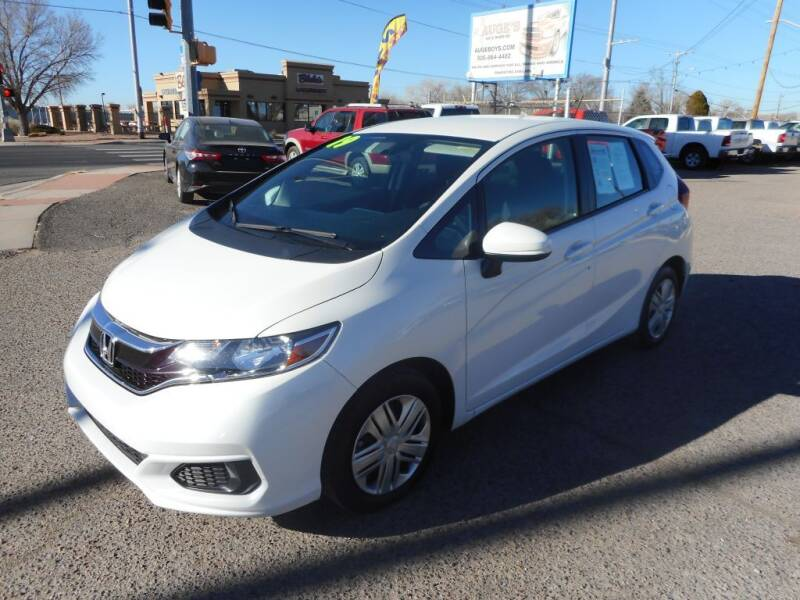 2019 Honda Fit for sale at AUGE'S SALES AND SERVICE in Belen NM