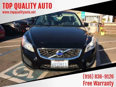 2012 Volvo C30 for sale at TOP QUALITY AUTO in Rancho Cordova CA