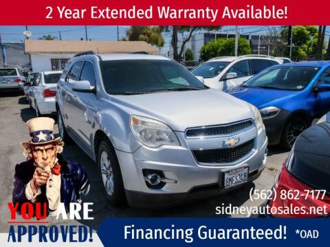 2011 Chevrolet Equinox for sale at Sidney Auto Sales in Downey CA
