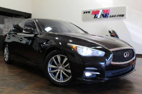 2014 Infiniti Q50 for sale at Driveline LLC in Jacksonville FL