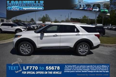 2021 Ford Explorer Hybrid for sale at Loganville Quick Lane and Tire Center in Loganville GA