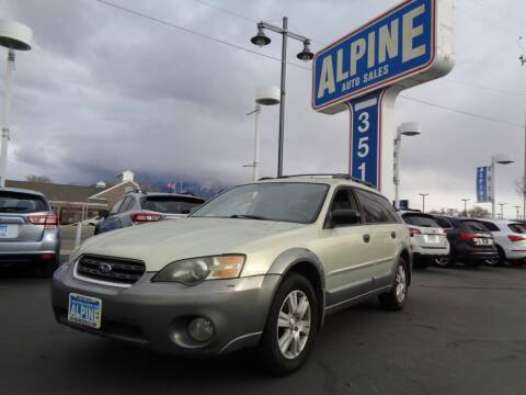 2005 Subaru Outback for sale at Alpine Auto Sales in Salt Lake City UT